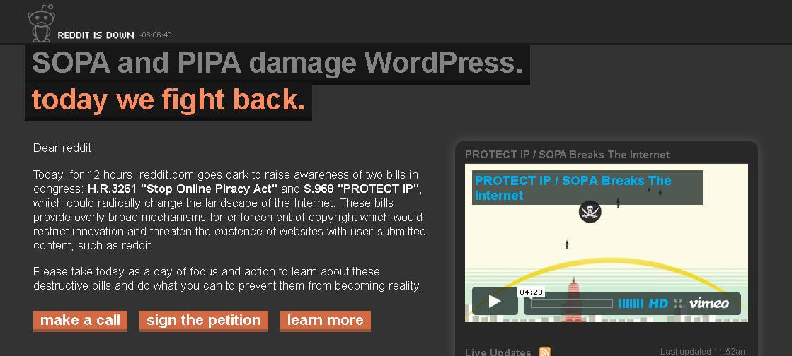 Internet Apocalypse? How Will SOPA Affect Your Business? [Pics]