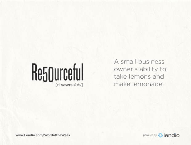 Lendio Business Word of the Week - Resourceful