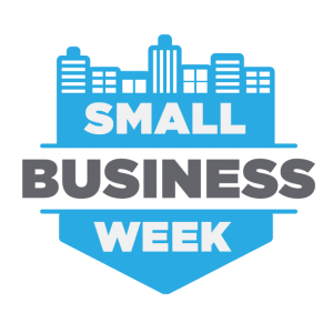 Lendio's Small Business Week Logo