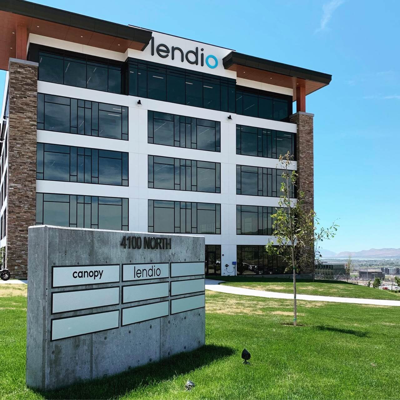 Lendio headquarters in Lehi, Utah